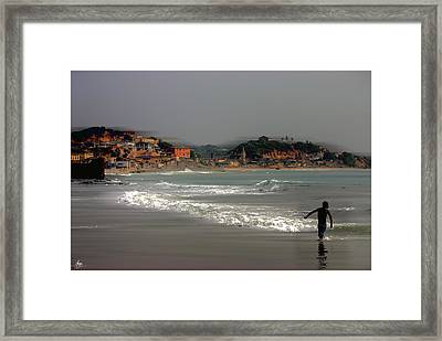 The Wind Is In From Africa Framed Print