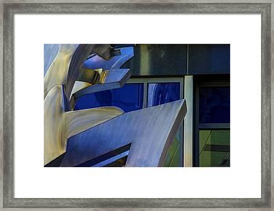 The Wind Framed Print by Raymond Kunst