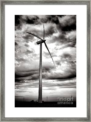 The Windmaster Framed Print by Olivier Le Queinec