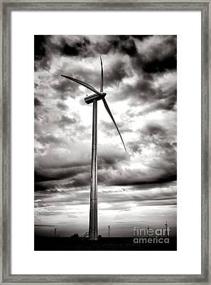 The Windmaster Framed Print