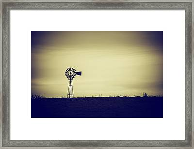 The Windmill Framed Print by Karol Livote