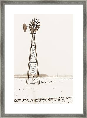 The Windmill Framed Print
