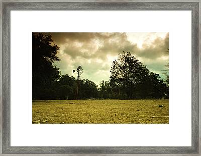 Framed Print featuring the photograph The Windmill by Susan D Moody