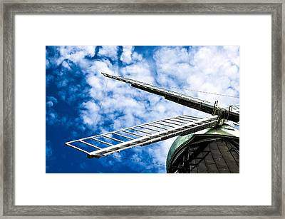 The Windmill Framed Print by Tommytechno Sweden