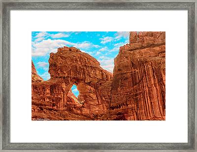 The Window #2 Framed Print by Bob and Nadine Johnston