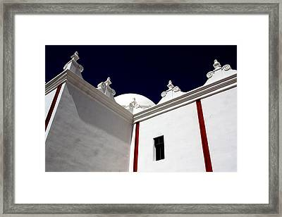 The Window Above Framed Print