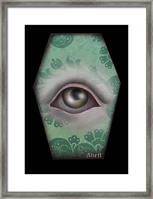 The Window Framed Print by  Abril Andrade Griffith