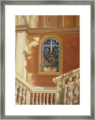 The Window Box Framed Print