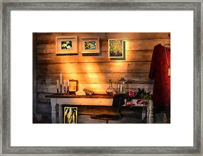 The Window Down The Street Framed Print by Tommytechno Sweden