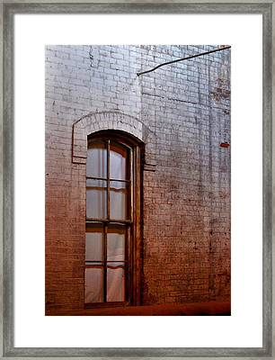 The Window Of Opportunity Framed Print