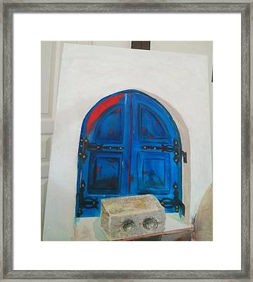 The Window Framed Print by Sulzhan Bali