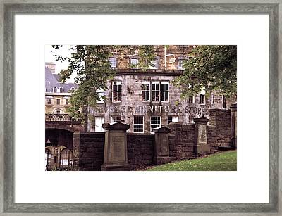 The Window Where Was Born Harry Potter' Framed Print by RicardMN Photography