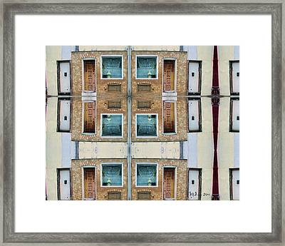 The Windows Of The Soul  Framed Print