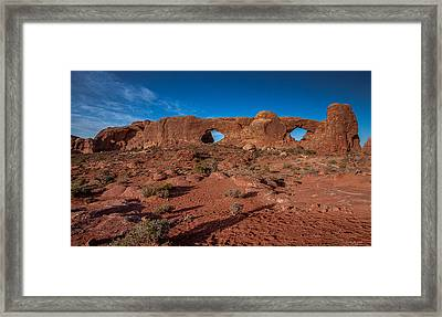The Windows Framed Print