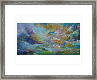The Winds Of Changes Shift Framed Print