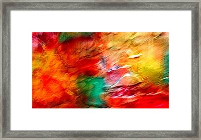 The Winds Of Color Framed Print