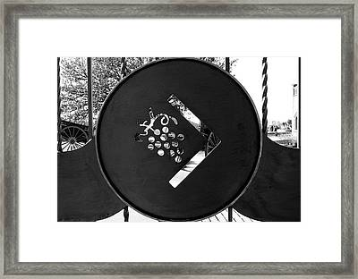 The Winery Framed Print by Gina Dsgn