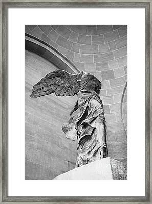 The Winged Victory Framed Print by Patricia Hofmeester