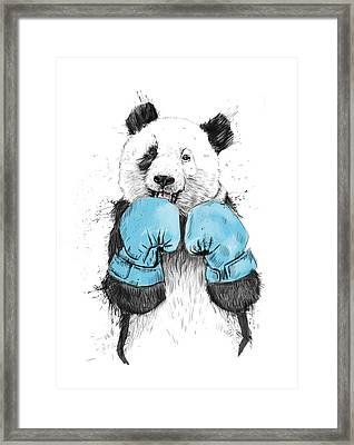 The Winner Framed Print