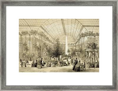 The Winter Garden Framed Print
