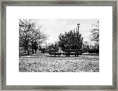 The Winter Framed Print by Gautam Gupta