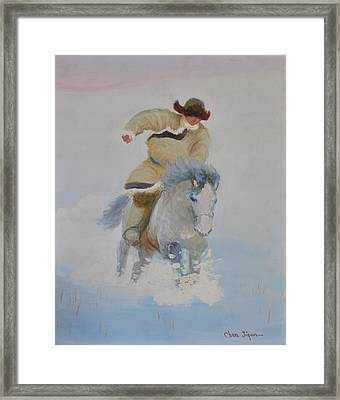 The Winter Framed Print