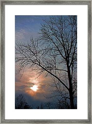 The Winter Skies Framed Print by Rhonda Humphreys