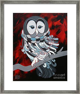 The Wise One Framed Print
