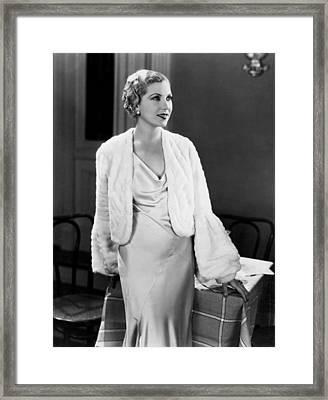 The Wiser Sex, Lilyan Tashman, 1932 Framed Print
