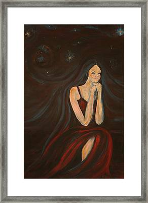 The Wish Framed Print by Kathy Peltomaa Lewis