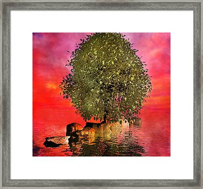 The Wishing Tree Two Of Two Framed Print by Betsy Knapp