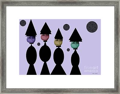 The Witch Club Framed Print