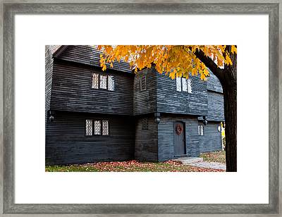 The Witch House Framed Print by Jeff Folger