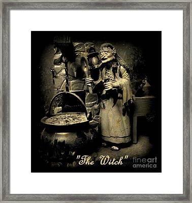 The Witch Framed Print by John Malone