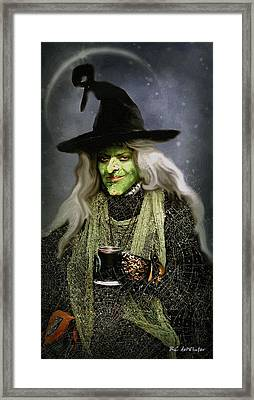The Witch Of Endor As A Cavalier Framed Print by RC deWinter