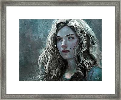 The Witch Framed Print by Steve Goad