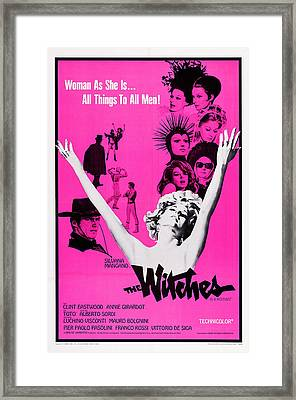 The Witches, Aka Le Streghe, Us Poster Framed Print by Everett