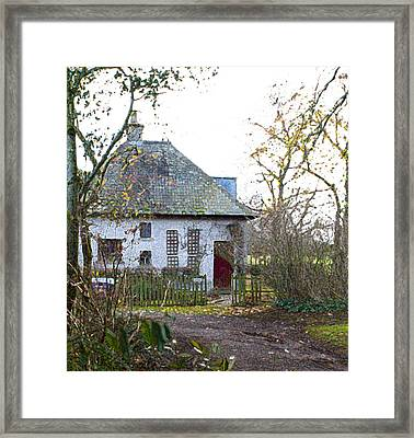 The Witches Cottage Framed Print by Dave Byrne
