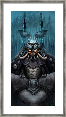 The Wizard's Hat And The Mechanical Man Framed Print by Ethan Harris