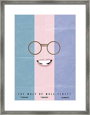The Wolf Of Wall Street Framed Print by Mike Taylor