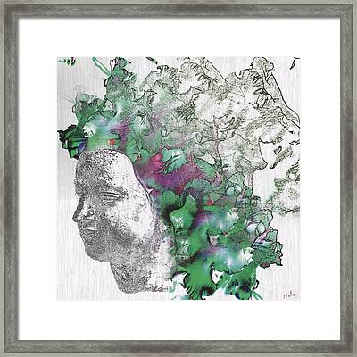The Woman From Yes Framed Print by Nola Lee Kelsey