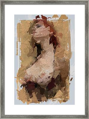 The Woman In You Framed Print