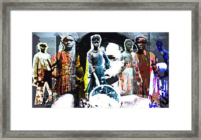 The Women Of Jimmy Crow Framed Print by Keven Reynolds