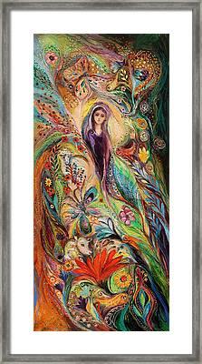 The Women Of Tanakh Story Of Rachel Framed Print by Elena Kotliarker