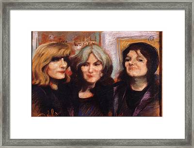 The Women Framed Print