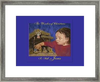 The Wonder Of Christmas Framed Print