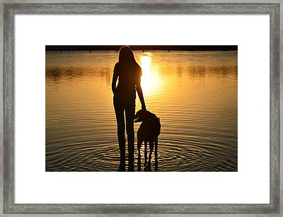 The Wonder Of Everyday Framed Print by Laura Fasulo