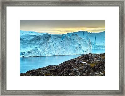 The Wonder Of Greenland Framed Print
