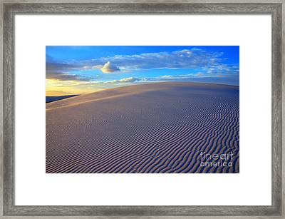 The Wonder Of New Mexico Framed Print by Bob Christopher