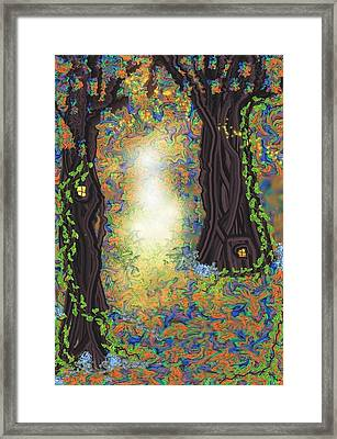 The Wood Framed Print